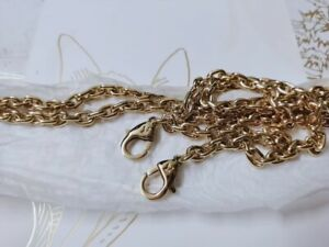 NEW LOUIS VUITTON Chain Gold Long Shoulder Strap