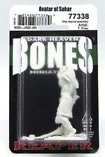 Reaper 77338 Bones Avatar of Sokar (1) Miniature Hawk Lord Cleric Nefsokar Golem