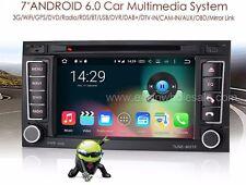 "AUTORADIO Android 6.0 7"" quad core Vw Touareg multivan navigatore Comandi octa"