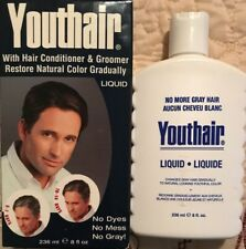 Youthair Hair Conditioner & Groomer, Natural Color Gradually, Liquid, 8 oz