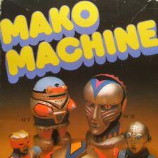 Mako machine - Robots style Goldorak vintage ancien jeu de moulage platre moules