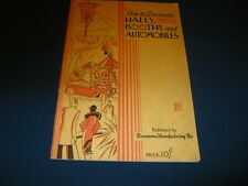 How to decorate Halls, Booths and Automobiles (#526) copyright 1927
