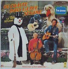 On chante dans la rue Sésame 33 tours 1980