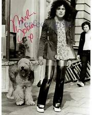MARC BOLAN SIGNED PP PHOTO T REX MARK