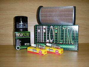 ER500 97-05 Service Kit Air Filter Oil Filter Spark Plugs ER 500 ER5
