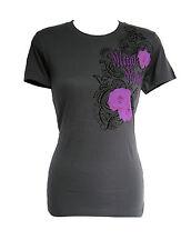 BRAND NEW METAL MULISHA WOMENS GRAPHIC CREW NECK T SHIRT TEE TOP TUNIC BLOUSE XS