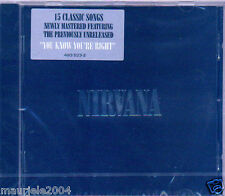 Nirvana. 15 Classic Songs Best of (2002) CD NUOVO Sliver. All Apologies. Rape Me