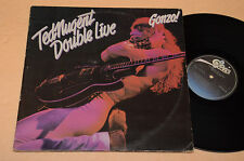 TED NUGENT 2LP HARD ROCK METAL DOUBLE LIVE GONZO 1°ST ORIG 1978 !!