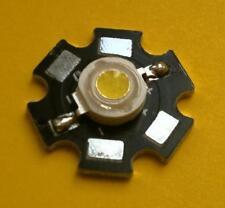 LED ALTA LUMINOSITA' 3W 240-260LM BIANCO FREDDO WHITE 6000-6500K HIPOWER LED
