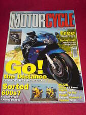 MOTORCYCLE SPORT & LEISURE - HONDA V5 RACER - April 2001 #486