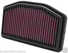 YAMAHA YZF R1 (09-14) K&N HIGH FLOW AIR FILTER ELEMENT YA-1009