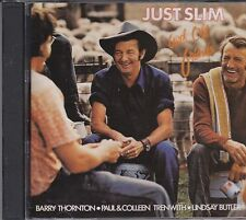 SLIM DUSTY - JUST SLIM WITH OLD FRIENDS  - BARRY THORNTON ETC - CD - NEW -