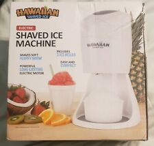 Hawaiian Shaved Ice S900a Electric Shaved Ice Machine New