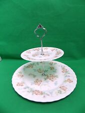 Wedgwood Cottage Rose 2 TIER CAKE STAND