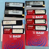 Tandy TRS-80 Computer Software Radio Shack Model 4 General Ledger Disks Data 5.2
