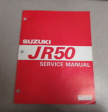 1996 Suzuki Jr50 Service Repair Atv Motorcycle Manual 99500-20160-01E