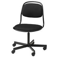 *New* ÖRFJÄLL  Swivel chair, black, Vissle black 093.030.74 *Brand IKEA*