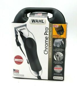Wahl Chrome Pro Complete Haircutting Kit for Men – Powerful Total Body Clipping