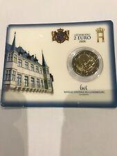 Pièce 2 Euro LUXEMBOURG 2008 BU/coincard Château de Berg