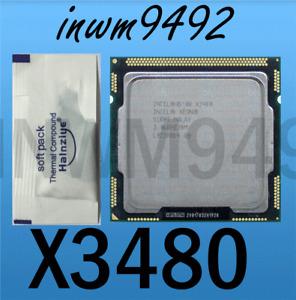 Intel Xeon L3426 X3430 X3440 X3450 X3460 X3470 X3480  LGA1156 CPU Processor