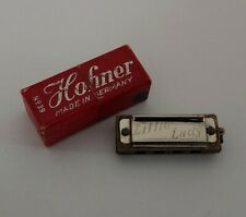 More details for vintage retro boxed hohner little lady no39 miniature harmonica made in germany