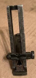 """Springfield 1903 Rear Sight & Slide Assembly Stamped """"M"""" Used"""