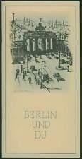 Das Alphabet der Reichshauptstadt Berlin 1939 Führer Chronik Geschichte Pläne RP