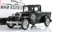 Scale car 1:43, GAZ-4 black
