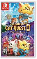Cat Quest + Cat Quest II The Pawsome Pack (Nintendo Switch) BRAND NEW & SEALED !