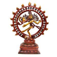 SHIVA Nataraj  Statue God of Dance Brass Idol Siva Hindu Temple Figurine New