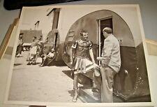 """Fotografia originale CINECITTA' sul set del film """"LA TUNICA"""" 1953"""