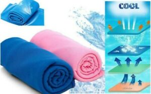 Instant Ice Cooling Towel for Fever, Migraines & Heat Strokes (BCA566CT)