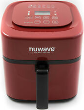 NuWave Brio Digital Air Fryer (6 qt, Red)