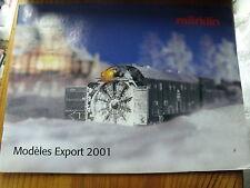 µ?  Catalogue Marklin Modeles Export 2011 en français