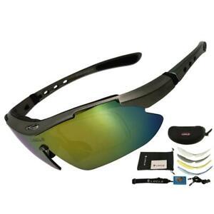 LOCLE Polarized UV400 Cycling Glasses 6 Color cycling Eyewear Men Women Unisex
