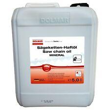5L DOLMAR Öl Haftöl Kettensägenöl Kettenöl Sägekettenöl Kettensäge