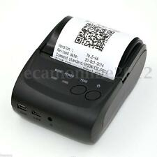 Wireless Bluetooth Pocket Mini Thermal Receipt Printer for Android Mobile 58mm