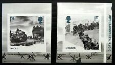 Gb 2019 Sg4237 & 4238 Stamps From Anniversary Of D-Day Self Adhesive Booklet