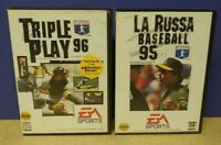 La Russa + Triple Play Baseball MLB  - Sega Genesis Working Tested 2 Game Lot
