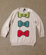 Forever 21 Hello Kitty 3 Bow Knit Sweater Small Rare Hard to find Limited