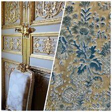 Swatch Designer Italian Burnout Damask Chenille Velvet Fabric - Upholstery