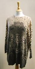 Marks and Spencer Animal Print 3/4 Sleeve Women's Jumpers & Cardigans