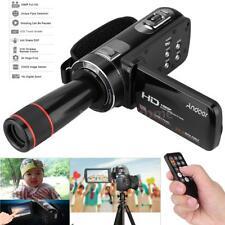Pro Digital Camera Full HD Video Camcorder Anti-Shake with Remote Control P5C2