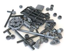 LEGO Pearl Light & Dark Gray Bricks Mixed Bulk Lot Metallic Silver Color