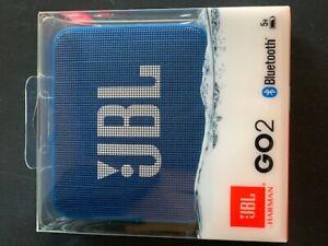 Wireless Speaker Portable Bluetooth JBL Go 2 Blue