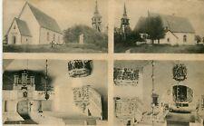 Sweden Liatorp 1907 quadruple vignette sepia postcard mailed under cover