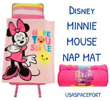 Disney Exclusive Minnie Mouse NAP MAT Toddler Daycare Preschool BLANKET + PILLOW