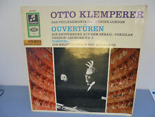33 Tours - Otto Klemperer - Ouvertures