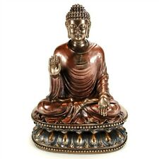 "BUDDHA STATUE 9"" Sakyamuni Buddhist Deity HIGH QUALITY Bronze Resin Shakyamuni"