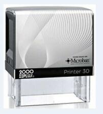 Custom 4 Line Return Address Self Ink Rubber Stamp Cosco P30 equal to Traxx 9012